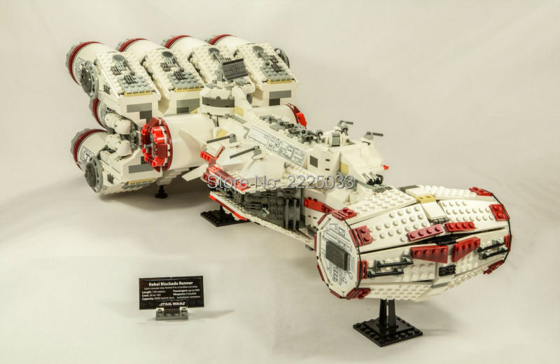 Star Space Wars Series The Tantive IV Rebel Blockade Runne 05046 1748Pcs Building Blcoks Bricks Toys For Children Gift sme series iv
