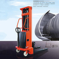 1500kg Semi-Automatic Fork Lift Truck Lifting Height 2m Can Push By Hand