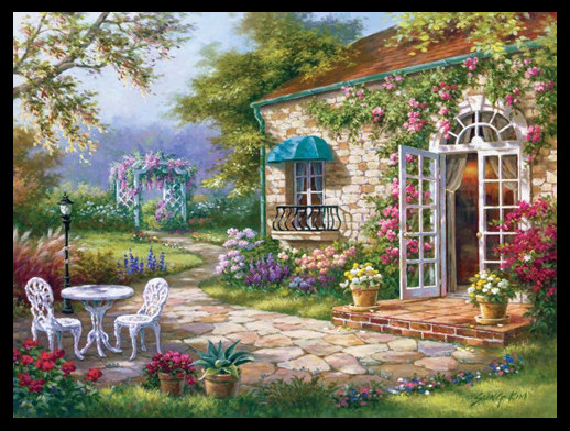 Golden panno,Needlework,Embroidery,DIY Landscape Painting,Cross stitch,kits,14ct garden  Cross stitch,Sets For Embroidery-in Package from Home & Garden    1