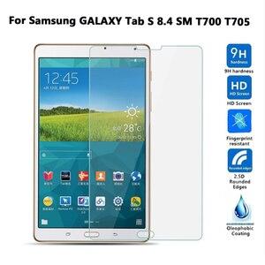 Защитная пленка для экрана из закаленного стекла для Samsung GALAXY Tab S 8,4 SM T700 T705 8,4 дюймов, защитная пленка для планшета