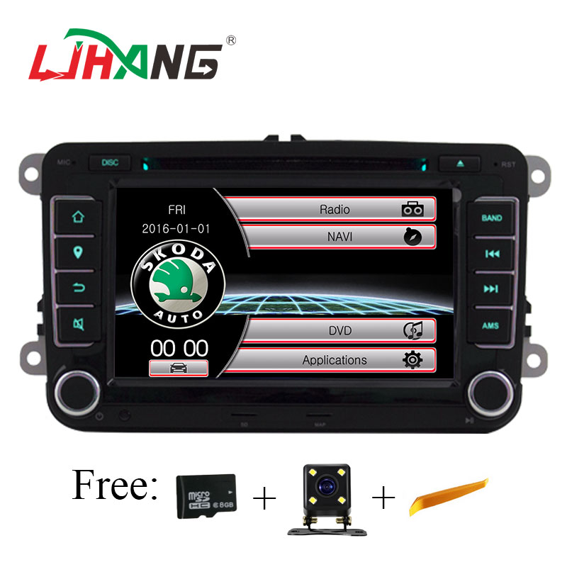 7 2 din advanced car dvd auto radio gps for volkswagen vw. Black Bedroom Furniture Sets. Home Design Ideas