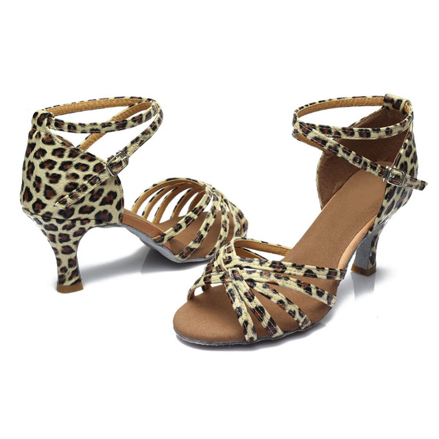 Glitter Latin Dance Shoes