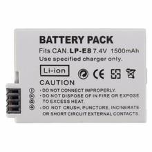 High Quality LP-E8 LP E8 LPE8 Camera Battery For Canon 550D 600D 650D 700D X4 X5 X6i X7i Rebel T2i T3i T4i T5i LC-E8E SSY-2290