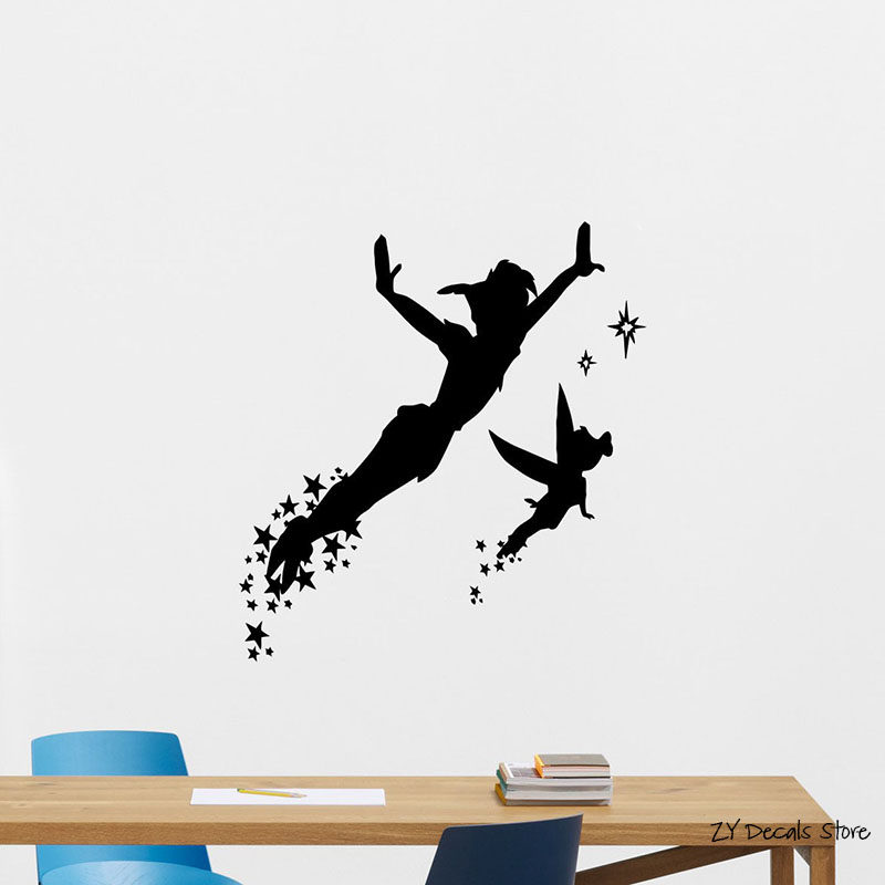 Online Shop New2016 Peter Pan Wall Decal Art Sticker Decor Quote