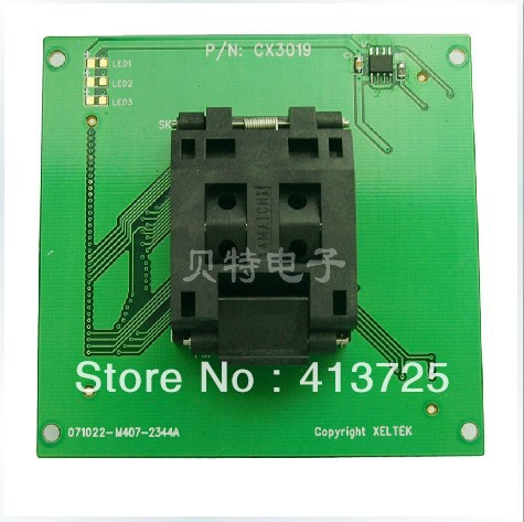 Imports of IC CX3019 adapter SP5000E/5000 private PQFP80 burn test imports of ic ots 28 0 65 02 block ssop28 burn test programming adapters