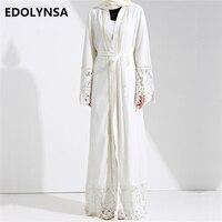 Dubai Abaya Muslim Dress Solid Plus Size Robe Knitting Dubai Abaya Dresses Kaftan Abaya Dresses Brand
