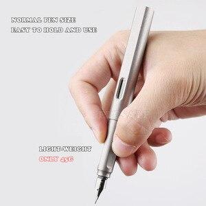Image 2 - High End 2 IN 1 ไทเทเนี่ยม TC4 ยุทธวิธีปากกาป้องกันตัวเองธุรกิจการเขียนปากกา EDC กลางแจ้งเครื่องมือคริสต์มาสของขวัญ