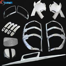 2012 suitable ford ranger T6 chrome kits chrome auto accessories for FORD RANGER 2012 2013 2014