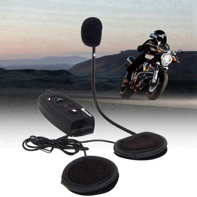 f1af9c955ba Image 500m V2 Motorcycle Moto Bluetooth Headset Ski Snowmobile Helmet  Interphone 2 Riders Moto Communicator Headphones