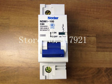 [ZOB] Nader letter NDM1-100 C80 genuine new miniature circuit breaker 1P80A  --10pcs/lot