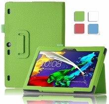 Case for Lenovo Tab 2 A10-30 X30 Smart Flip PU Leather Case Cover for Lenovo Tab 2 A10-30 X30F Tablet Case Funda Case+Stylus Pen