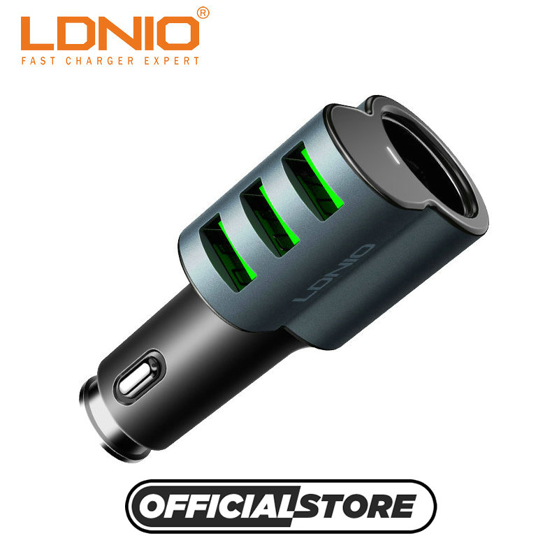 LDNIO cm11 super car adapter micro usb car charger electric charger for phone sony psp tablet