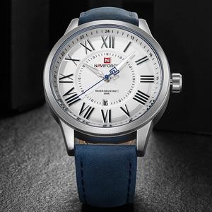 Image 3 - NAVIFORCE montre de sport, montre bracelet, à Quartz, pour hommes, marque de luxe, à la mode, horloge, nouvelle collection 2018