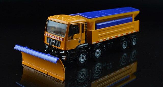 Kinder Spielzeug Pädagogisches Legierung Lkw Modell Lkw Spielzeug Snowplows Klar Schnee Maschinen Spezielle Art Kunststoff Modelle Bau Ausreichende Versorgung
