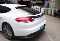 Panamera 용 탄소 섬유 자동차 후방 윙 트렁크 스포일러 970 2009 2010 2011 2012 2013