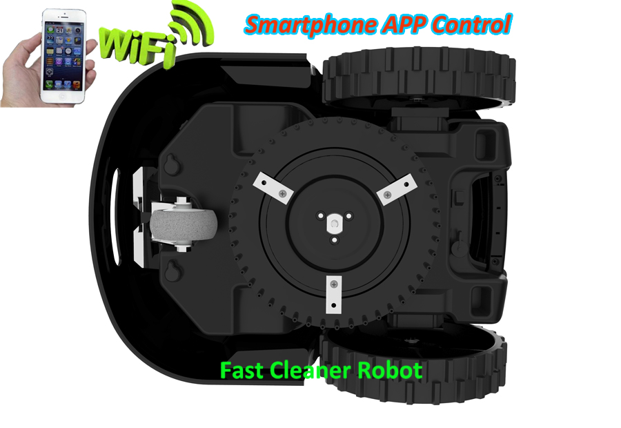 Гироскоп функция мини автоматическая газонокосилка робот с Wi-Fi функция приложения, водостойкое зарядное устройство, 200 м провода, 200 шт