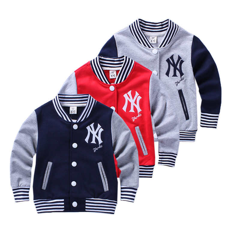 Aliexpress.com : Buy Best 2015 children Baseball jacket clothing ...