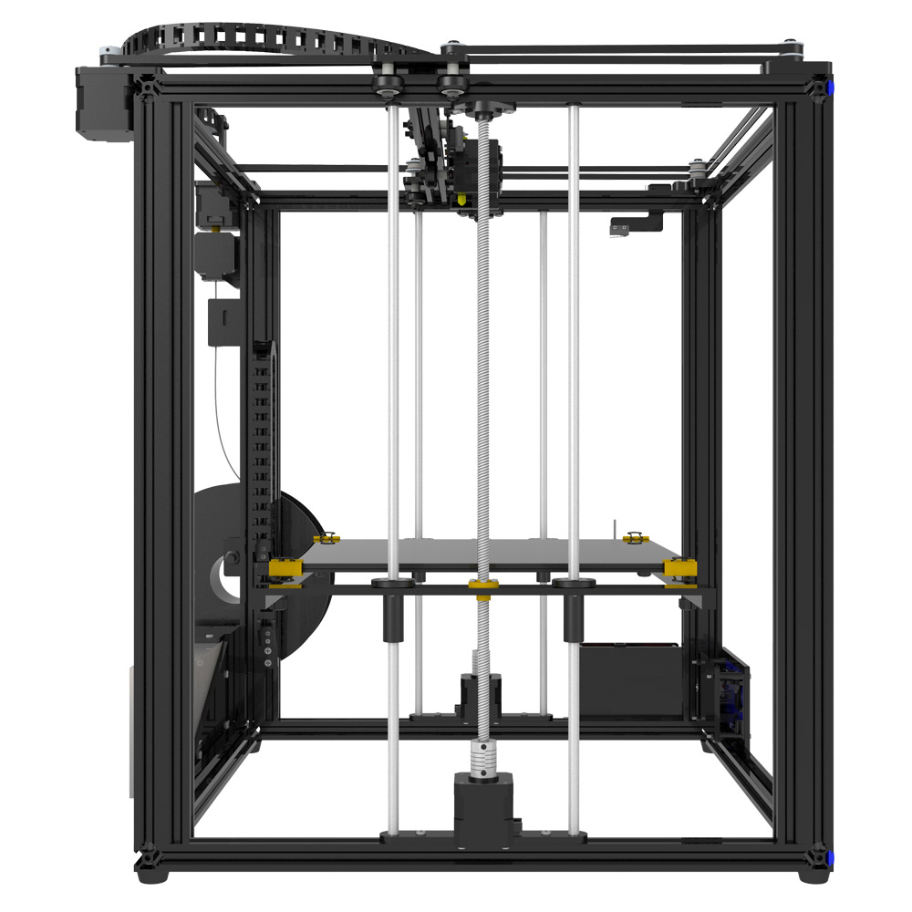 US $510 0 |2018 Newest Tronxy DIY Assembled X5SA Aluminium Extrusion 3D  Printer kit printing with Touch screen and Auto leveling-in 3D Printers  from
