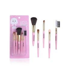 Пять мульти-функциональный кистей для макияжа разных простой в использовании комплекты необходимые для любителей красоты