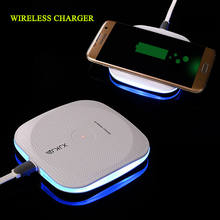 OUDNEAS Wireless Charger for Samsung Galaxy S7 Edge S8 Mobile Cell Phone Smartphone Charge for Nokia Qi Charging Pad Universal