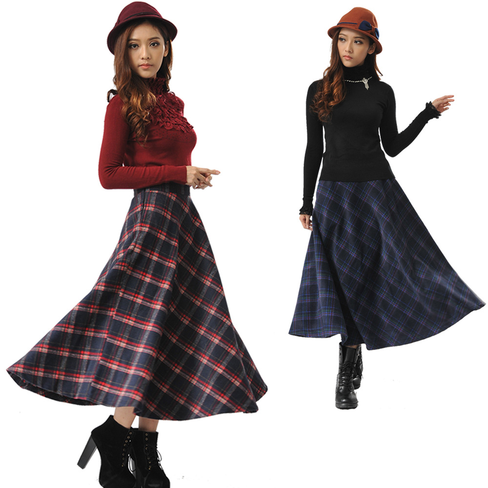 Aliexpress.com : Buy 2015 Autumn and Winter Thick Wool A line ...