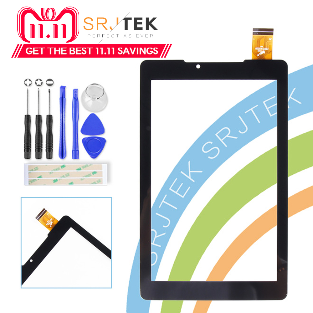 Srjtek 7 for Prestigio MultiPad Wize 3797 3G PMT3797 Touch Screen Digitizer Glass Sensor Panel PB70A2616 Touchscreen Repair