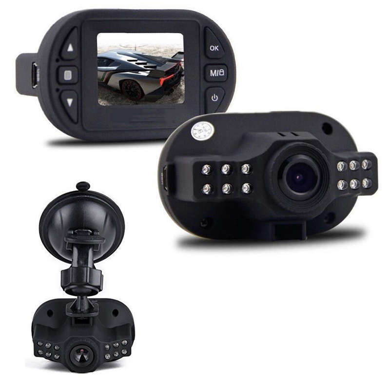 C600 Mini 1.5 Inch Car DVR 720P Car Camera IR LED Night Vision Recorder Dash Cam G-sensor 140 Degrees Wide Angle Car Camera