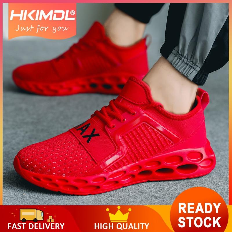 HKIMDL Homens Das Sapatilhas Formadores de Verão Ultra Aumenta Krasovki Zapatillas Deportivas Hombre Respirável Sapatos Casuais Sapato Masculino