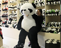 Горячая 180 см плюшевый панда шубной большой animial кожи подарки на день рождения рождественские подарки плюшевые игрушки куклы