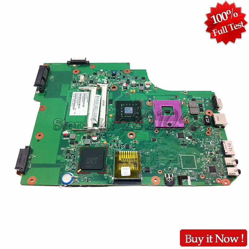 NOKOTION V000185550 Laptop Motherboard FOR TOSHIBA Satellite L505 6050A2302901 Mainboard DDR3 100% test ytai l740 a000093450 hm65 date5mb16a0 mainboard for toshiba satellite l740 l745 laptop motherboard a000093450 hm65 date5mb16a0