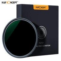 K&F MRC Slim ND1000 52/58/62/67/72/77/82mm Camera ND filter Lens Super HD Glass Neutral Density Filter For Sony Canon Nikon