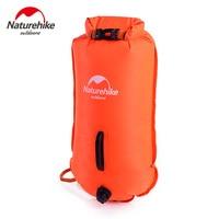 Naturehike Beach Swimming Dry Bag Waterproof Inflatable Flotation Bag Lifebuoy PVC Buoy Prevent Drowning Rafting Bags NH17S001 G