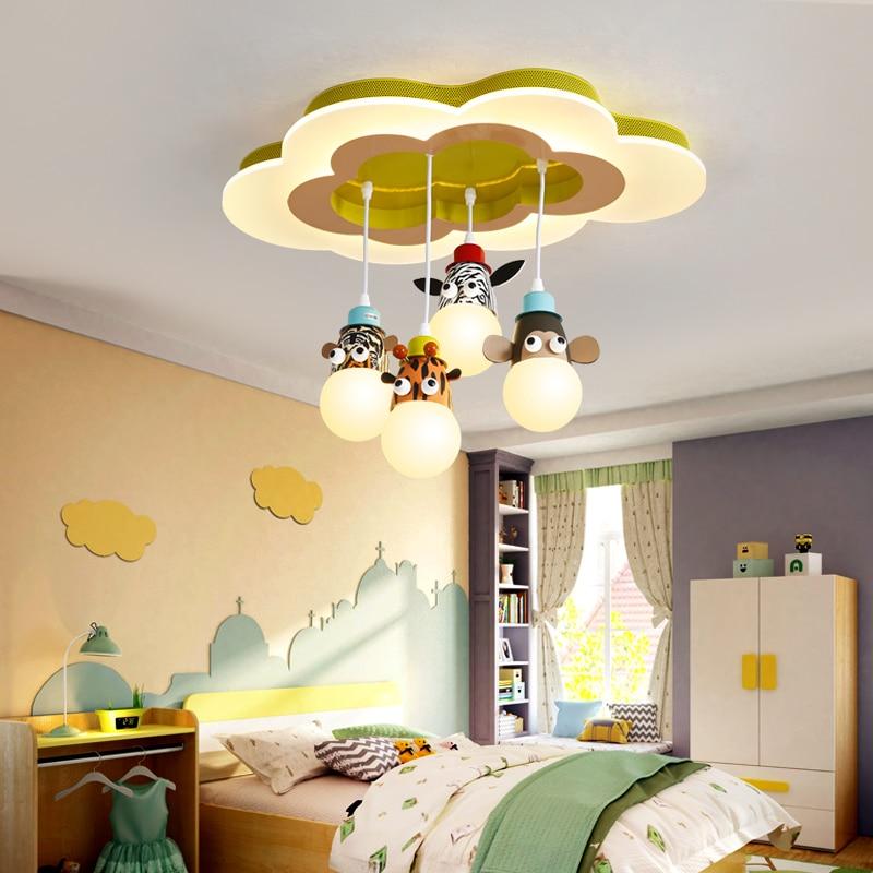 Children S Room Cartoon Pendant Light Study Room Bedroom