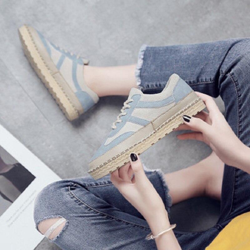 Respirant Automne Rue Sport 1 Marée Casual Nouvelles Mode Femmes 3 De Sauvage 2018 2 Chaussures nXxdvqX