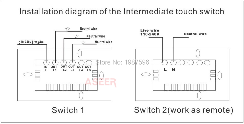 Wiring A 2 Way 110 Switch - Trusted Wiring Diagram •