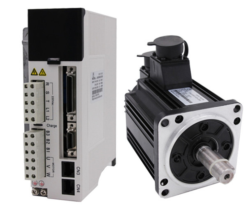 1.5kw 1500w 110mm 7.5Nm 2000rpm AC Servo Motor&drive kit with 3m cable 20Bit AC220V JMC 110JASM516220K-20B+JASD15002-20B used servo drive servo motor 1 6kw 220v 8n 2000 plus transfer