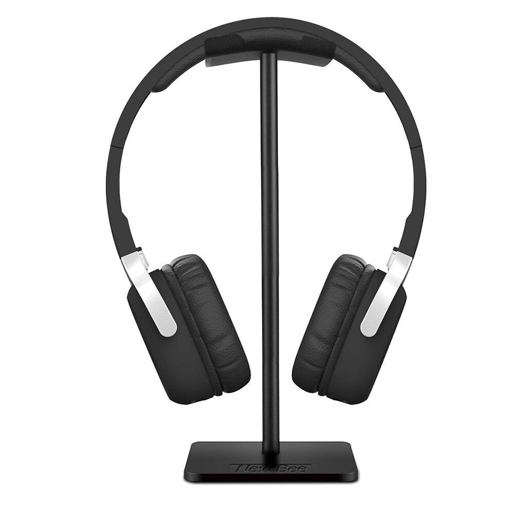 Universal Headset Holder Headphone Stand Mount Earphone Supporting Bar Base Earset Earbud Hanger for All Size Headphones