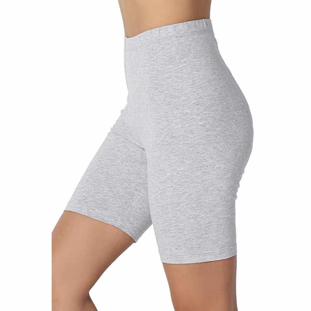 Mujeres Plus tamaño muslo Delgado antideslizante pantalones cortos para bajo los pantalones Leggings leggins maternidad mujeres embarazadas polainas