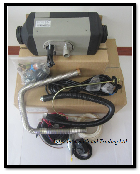 Fast Shipping 2kw 12v Air Heater Gasoline Petrol For Boat Bus Truck Similar With Webasto Free Gift