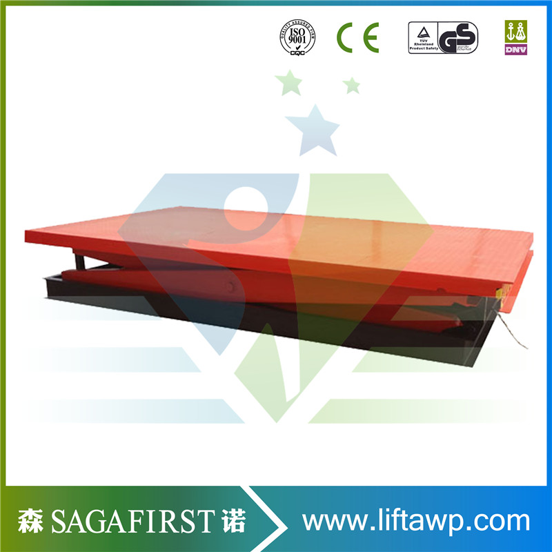 Customized Electric Lift Table Scissor Cargo Lift