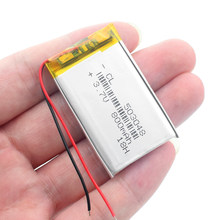 3.7V 800mAh 503048 polymer lithium ion / Li-ion Rechargeable battery With PCB for dvr MP3 MP4 GPS DVD Toy Bluetooth Speaker(China)