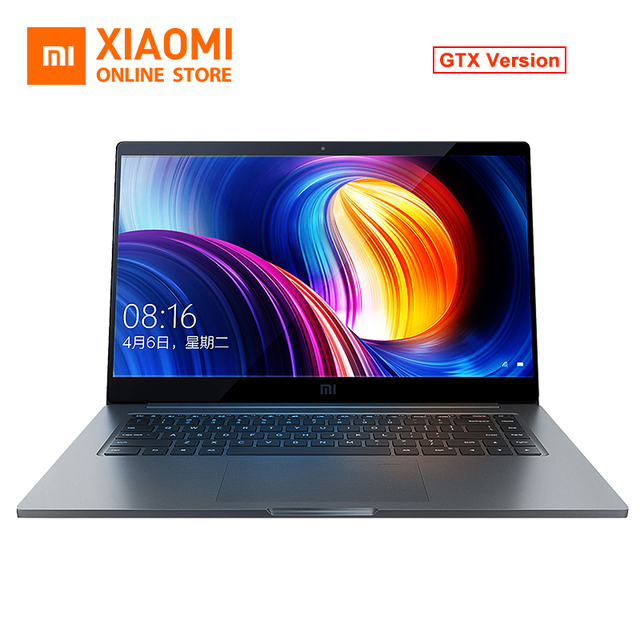 Original Xiaomi Notebook 15.6'' Pro GTX1050 Air Laptops Intel Core i5-8250U 4GB GDDR5 256GB PCIe 4 NVMe SSD DDR4 2400MHz Windows