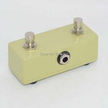 Vintage guitarra amp momentáneo footswitch 2 botón pedal interruptor guitarra amplificador & Footswitch envío gratis