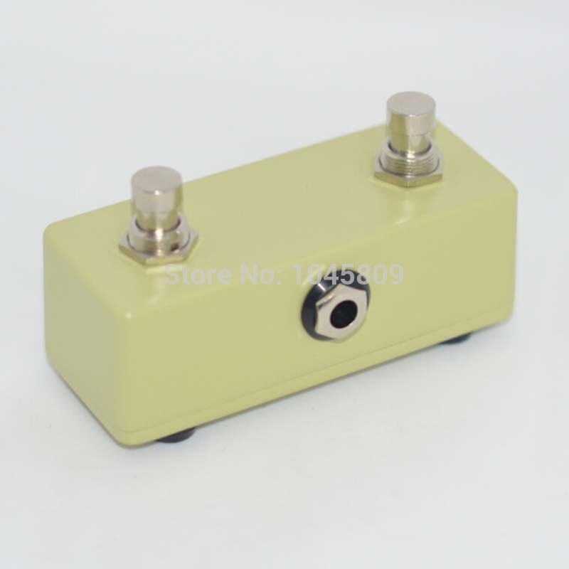 vintage guitar amp momentary footswitch 2 button pedal switch Guitar Amplifier Footswitch free shipping