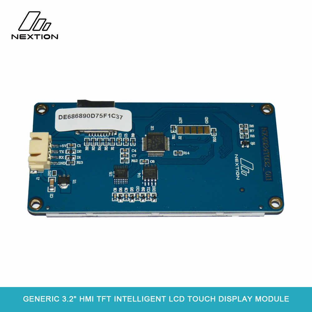"""Nextion NX4024T032-genel 3.2 """"HMI TFT akıllı LCD uygulanan IoT veya tüketici elektronik alan için dokunmatik ekran modülü"""