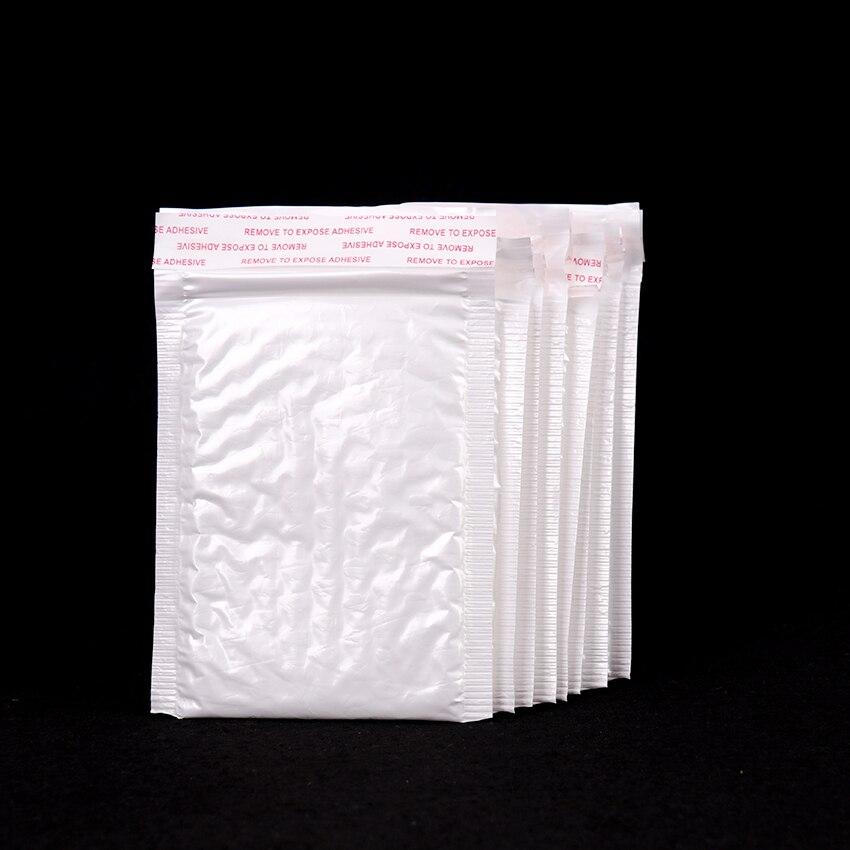 Bolsa de película de burbuja blanca, sobre de película de burbuja, película de perla, embalaje de oficina, bolsa de vibración a prueba de humedad, 10 Uds.