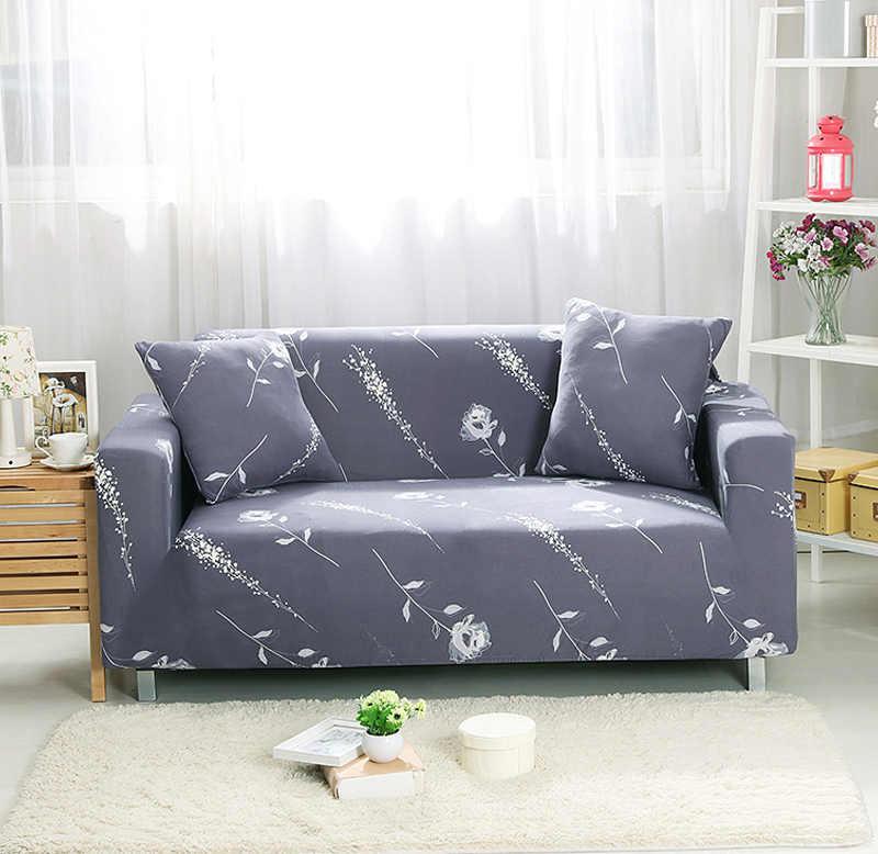 Fundas sofá elástico para sala de estar, funda de sofá elástica seccional antideslizante, toalla de sofá individual/dos/tres/cuatro asientos