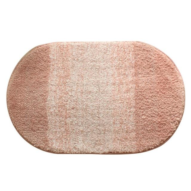 WINLIFE Einfache Stil Ovale Teppich Rosa Matte Für Kinderzimmer ...