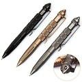 Alta Qualidade de defesa pessoal Ao Ar Livre EDC Tactical Pen Self Defense Pen Ferramenta Aviação Alumínio Anti-skid Portátil FC