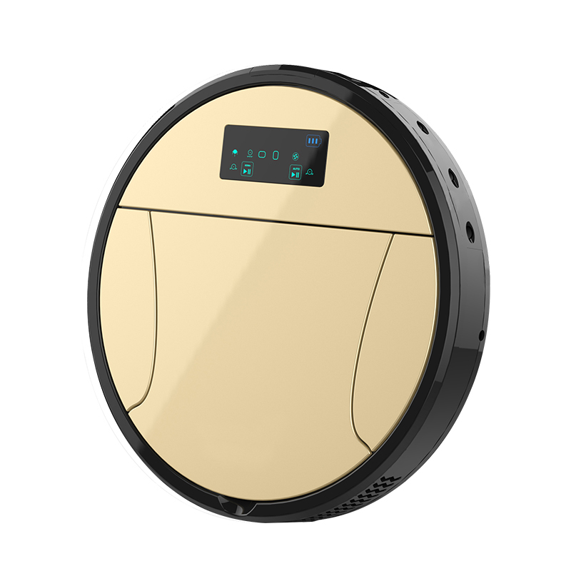 2018 Robotic Vacuum Cleaner With Camera,Video Call,Wi-fi Control,7000Mah Battery,Night Surveillance Smart Rrobot Cleaner Suction